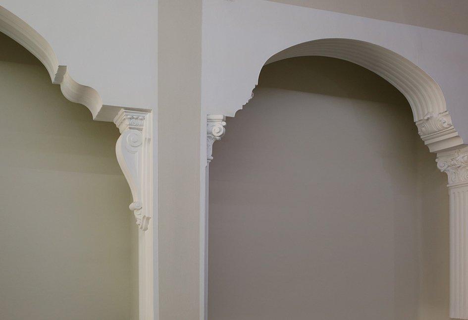 decoración en escayola para interior