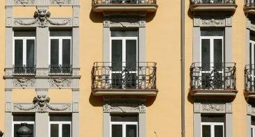 Decoración de escayola para fachadas