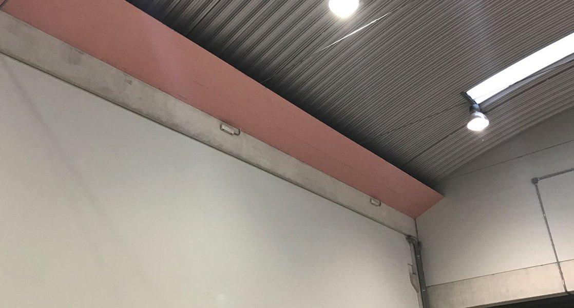 placas cortafuegos de yeso laminado PYL