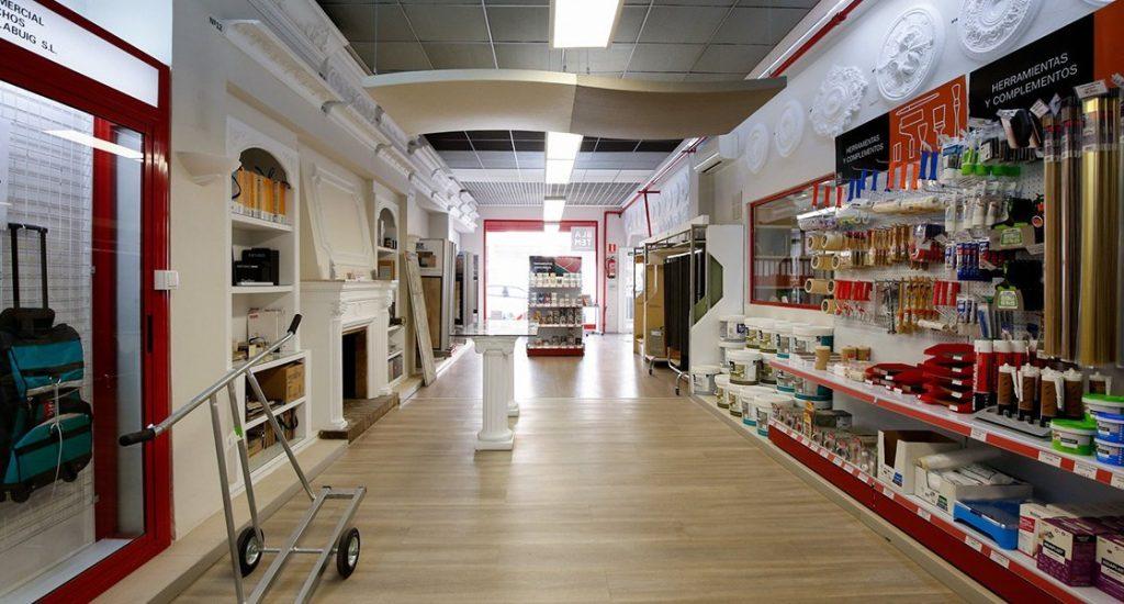 tienda almacén Calabuig Valencia