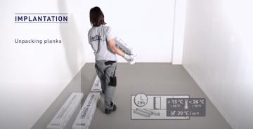Guía instalación suelos PVC Creation Clic
