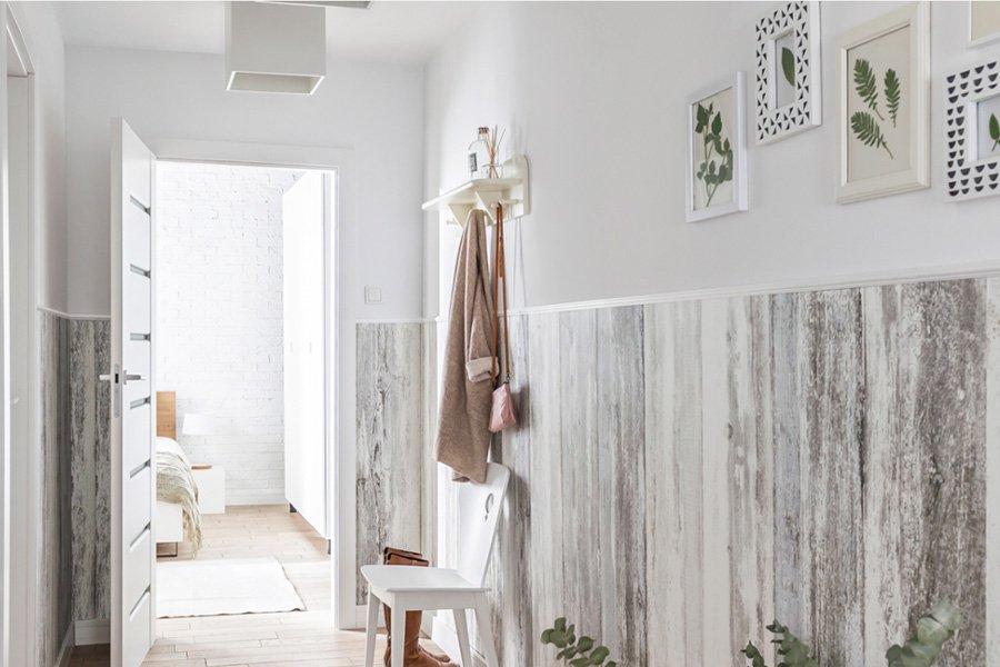paredes pvc madera