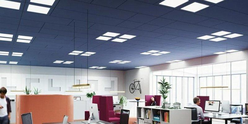 luminarias integradas techos