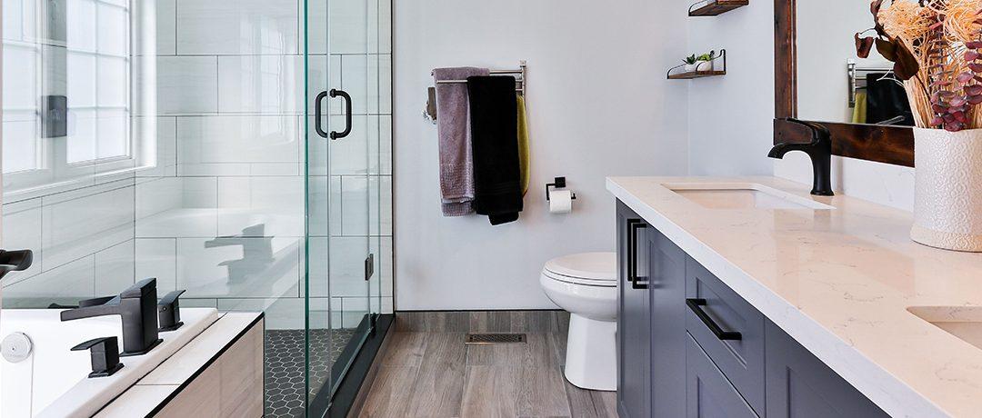 6 soluciones de materiales de construcción para la reforma de tu baño