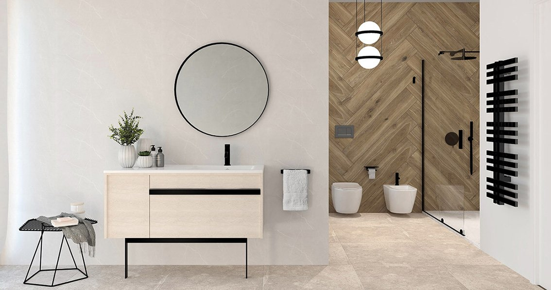 materiales de construcción para baño